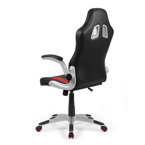 sillas-gaming-mugello-roja-gamer-lateral