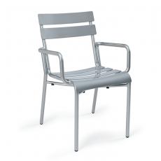 sillon-versalles-lamas-aluminio-pintado-gris