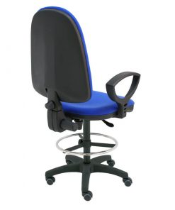taburete-giratorio-torino-azul-base-negra-ruedas-goma-trasera