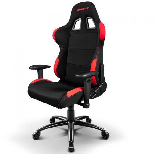 drift-dr100-silla-gaming-negra-roja