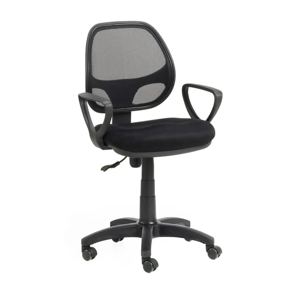 Bari la silla giratoria ergon mica con respaldo en malla for Silla giratoria ergonomica