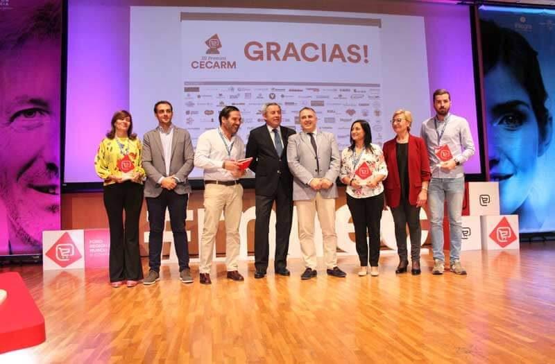 ganadores de los III premios cecarm