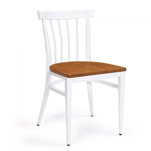 BALTIMORE-silla-acero-blanco-asiento-madera