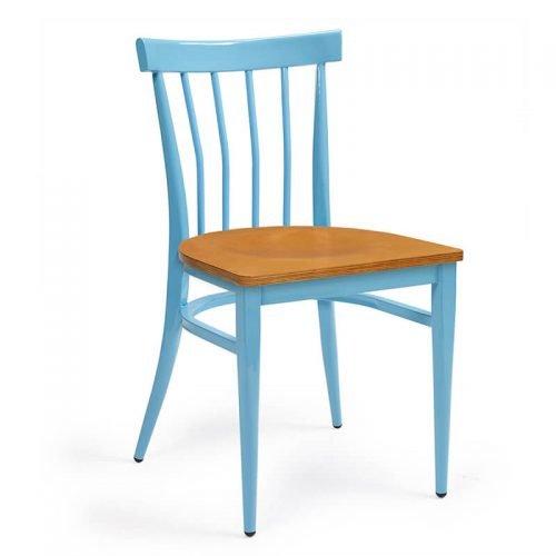 BALTIMORE-silla-acero-pintado-celeste-asiento-madera-laminado
