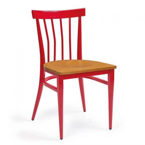 BALTIMORE-silla-acero-pintado-rojo-asiento-madera-laminada