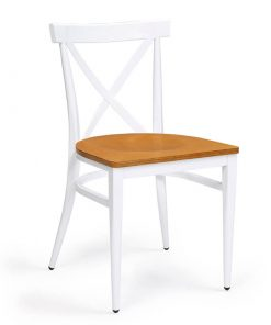 ORLANDO-silla-acero-pintado-blanco-asiento-madera-laminada