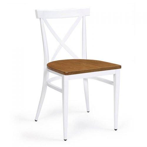 ORLANDO-silla-acero-pintado-blanco-asiento-madera-macizo