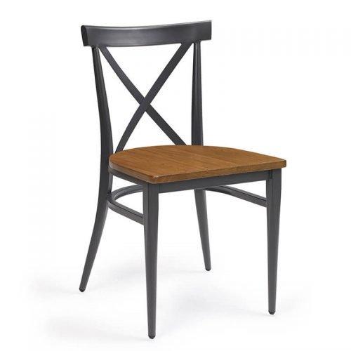 ORLANDO-silla-acero-pintado-grafito-asiento-madera-macizo