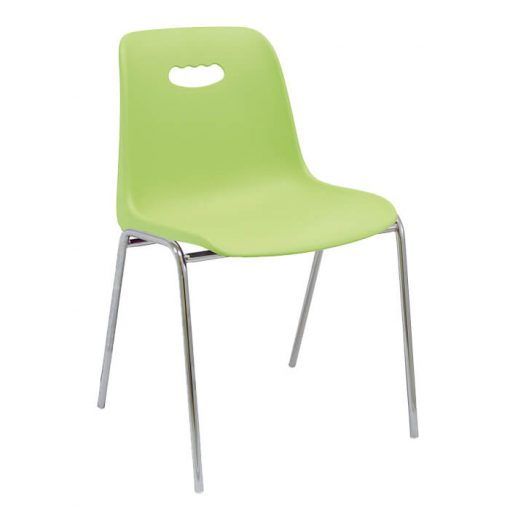 silla-fija-infantil-modelo-venecia-color-verde-patas-cromadas