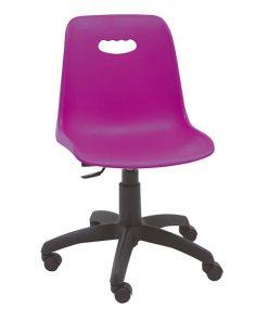 silla-giratoria-infantil-modelo-venecia-color-morada-base-negra