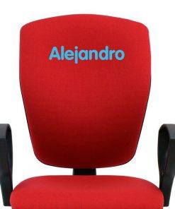 bordado-azul-claro-silla-mirage-respaldo