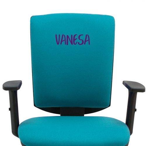 bordado vanesa silla torino turquesa