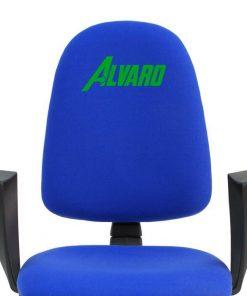 bordado-verde-silla-escritorio-torino-azul
