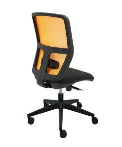 silla-giratoria-keempat-oficina-malla-naranja-asiento-negro