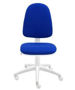 silla-escritorio-torino-blanca-color-azul-frente-ruedas-blancas
