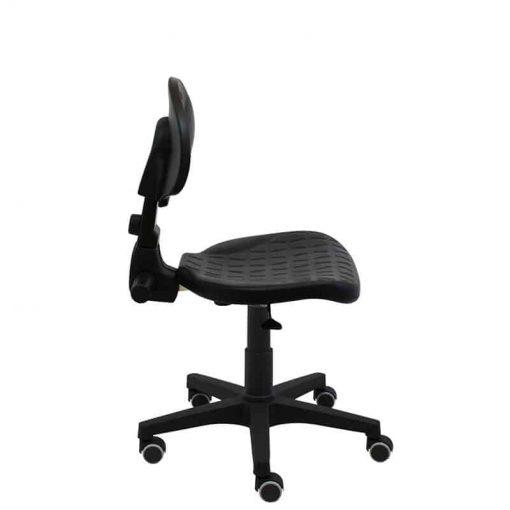 silla-giratoria-de-trabajo-Work-poliuretano-inyectado-con-ruedas-de-goma-negra-lateral