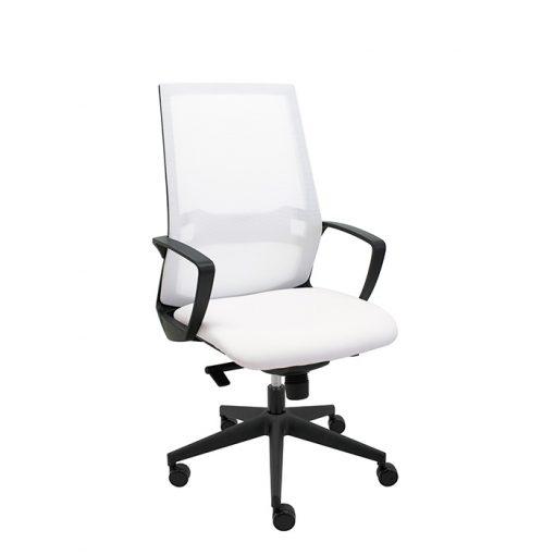 sillon-ergonomico-oficina-i70-malla-blanca