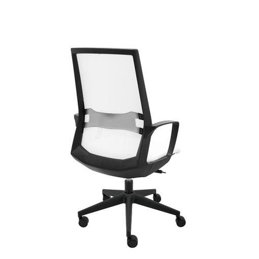 sillon-ergonomico-oficina-i70-malla-blanca-trasera