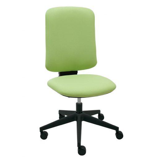 silla-giratoria-eve-negra-frontal-bali-verde-pastel-base-negra