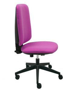silla-giratoria-eve-negra-lateral-loneta-frambuesa-base-negra