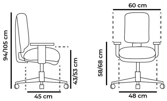 medidas-silla-oficina-blanca-Eve