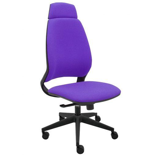silla-ergonomica-oficina-4U-tapizada-bali-morado