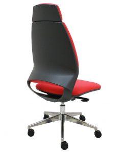 silla-ergonomica-oficina-4U-tapizada-con-base-aluminio-pulido