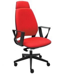 silla-ergonomica-oficina-4U-tapizada-con-brazos-rectos