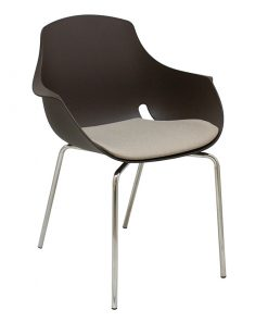 silla-fija-goa-marron-tapizado