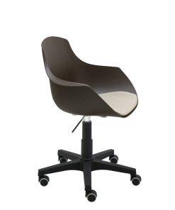 silla-giratoria-goa-marron-asiento-tapizado
