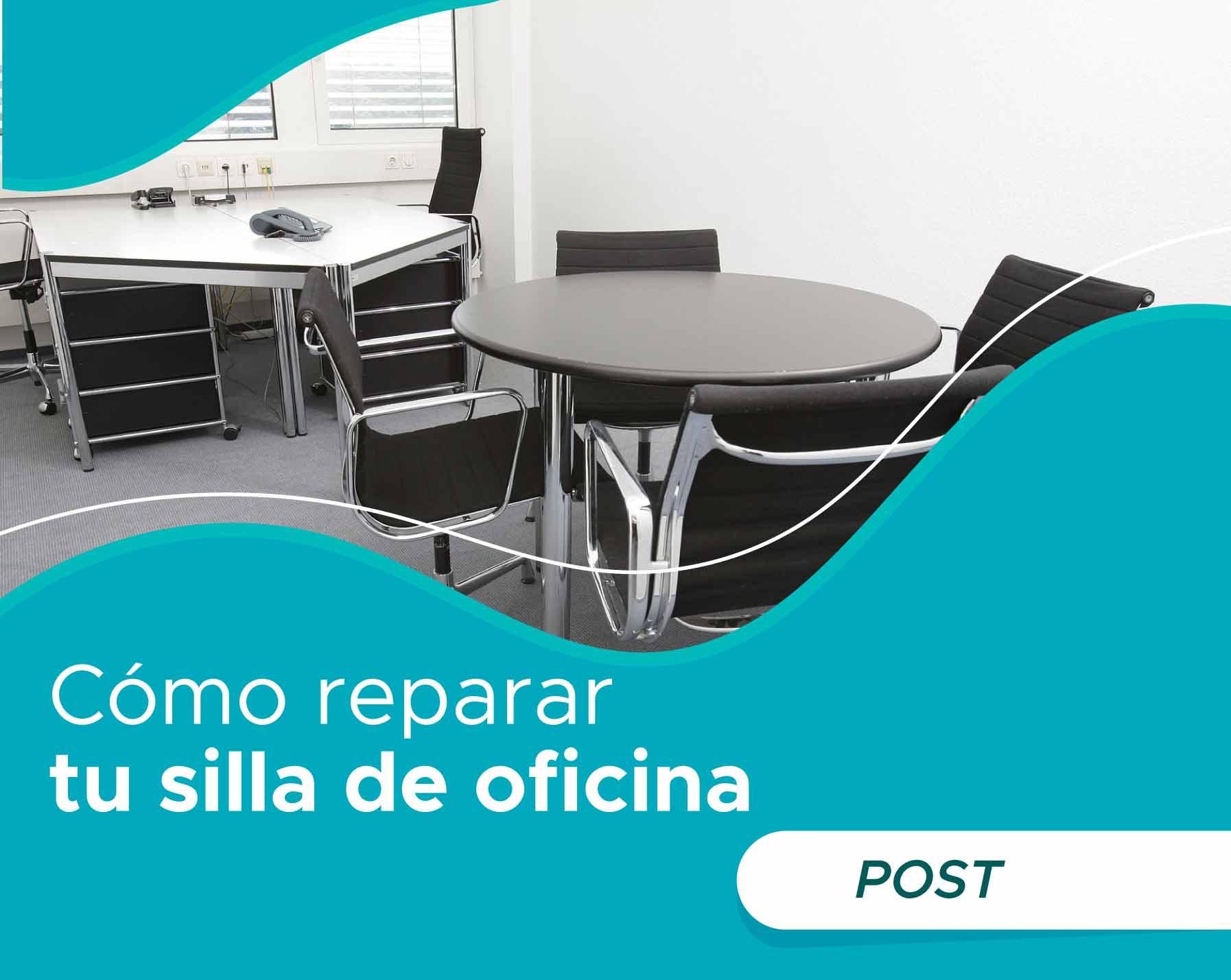 Como reparar una silla de oficina
