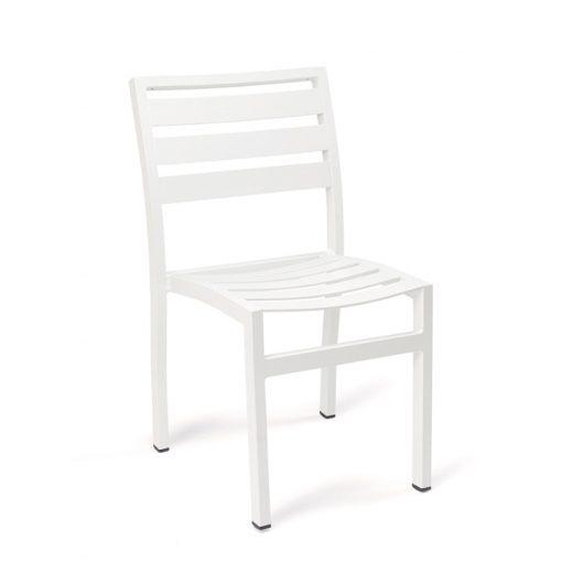EROS silla lamas aluminio pintado