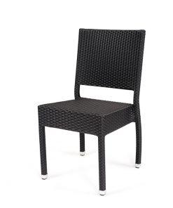 silla de ratán para exteriores Toscana