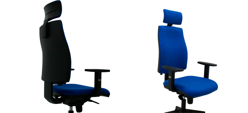 silla de escritorio Job con cabezal