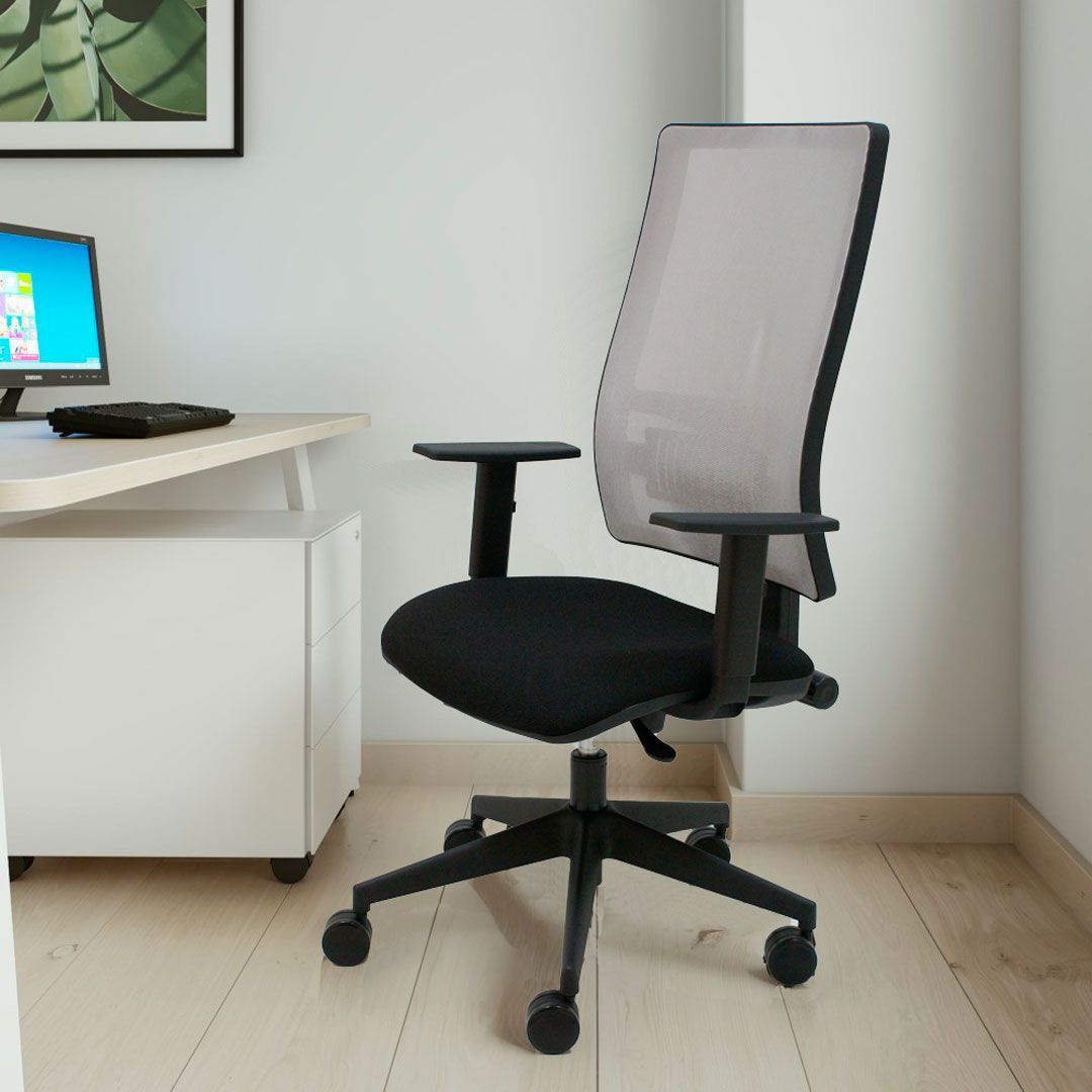 silla-negra-para-oficina-passion
