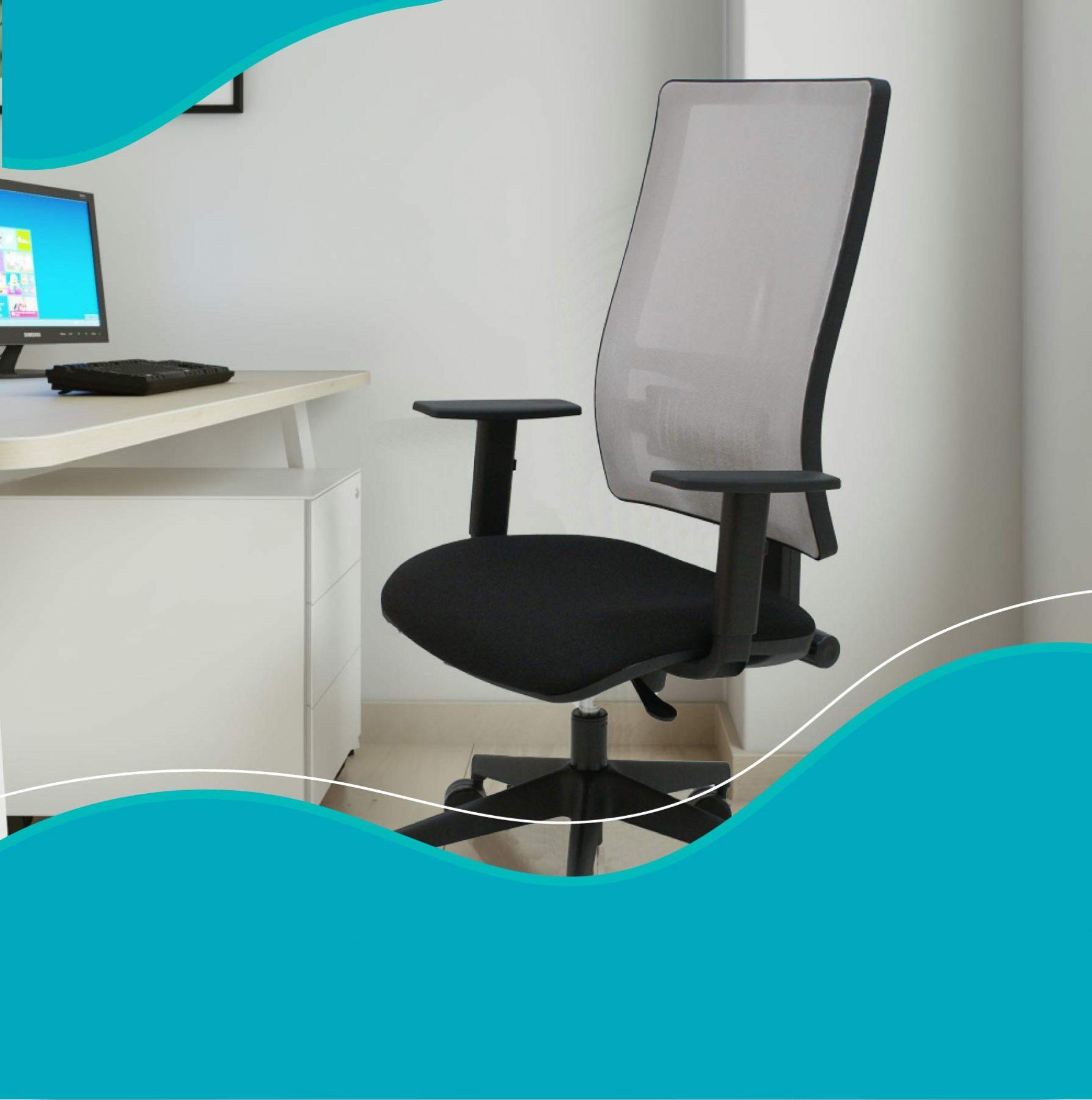 tendencias-sillas-para-escritorio-negras