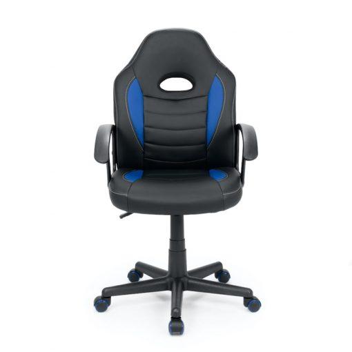 silla gaming juvenil barata azul