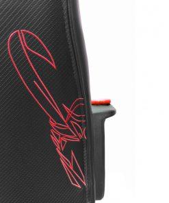 silla-gamer-bordado-rojo-espalda