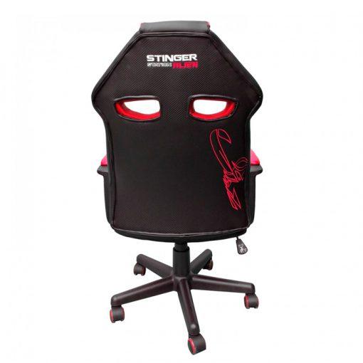 silla-gamer-roja-espalda