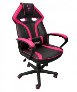 silla-gamer-rosa-negra-lateral